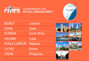 Competition Results New 7 Wonders Cities